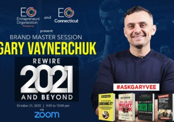 EO Philippines and EO Connecticut –Present Brand Master Session Gary Vaynerchuk  Oct 21, 2020